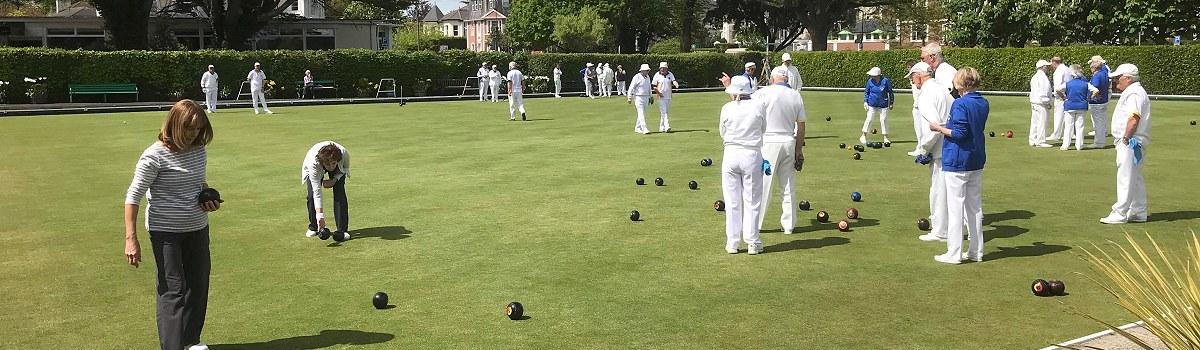 Bowling at Babbacombe..
